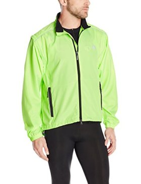 Canari Cyclewear Men's Razor Convertible Jacket, Killer Yellow, X-Large