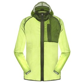 Outdoor Anti UVA UPF 30+ Waterproof Quick-dry Thin Windbreaker Jackets