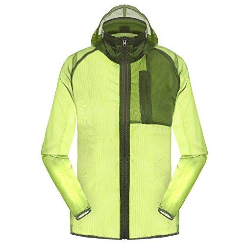 Outdoor Anti UVA UPF 30+ Waterproof Quick-dry Thin Windbreaker Jackets