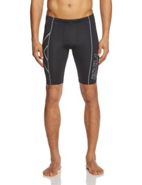 2XU Men's Compression Shorts (Black, Medium)