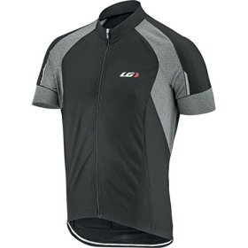 Louis Garneau Lemmon Vent Jersey – Short-Sleeve – Men's Black/Grey, XL