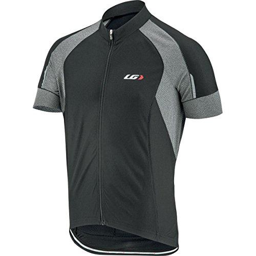 Louis Garneau Lemmon Vent Jersey – Short-Sleeve – Men's Black/Grey, XL