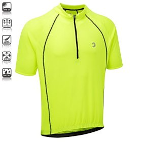 Tenn Mens Sprint S/S Cycling Shirt/Jersey – Hi-Viz Yellow – 2XL