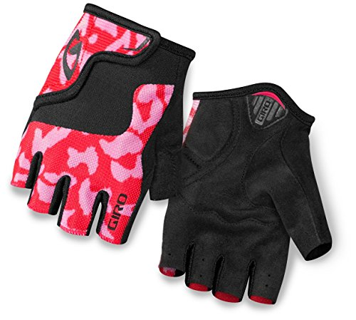 Giro Bravo Jr Glove – Kid's Pink/Black Medium
