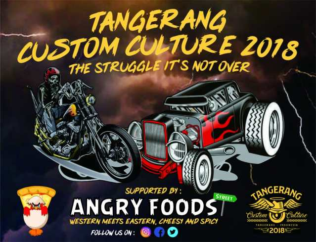 ANGRY FOODS STREET :WESTERN MEETS EASTERN  CHEESY AND SPICY MAKANAN JALANAN ..PAS UNTUK HANG OUT BIKERS By Isfandiari MD