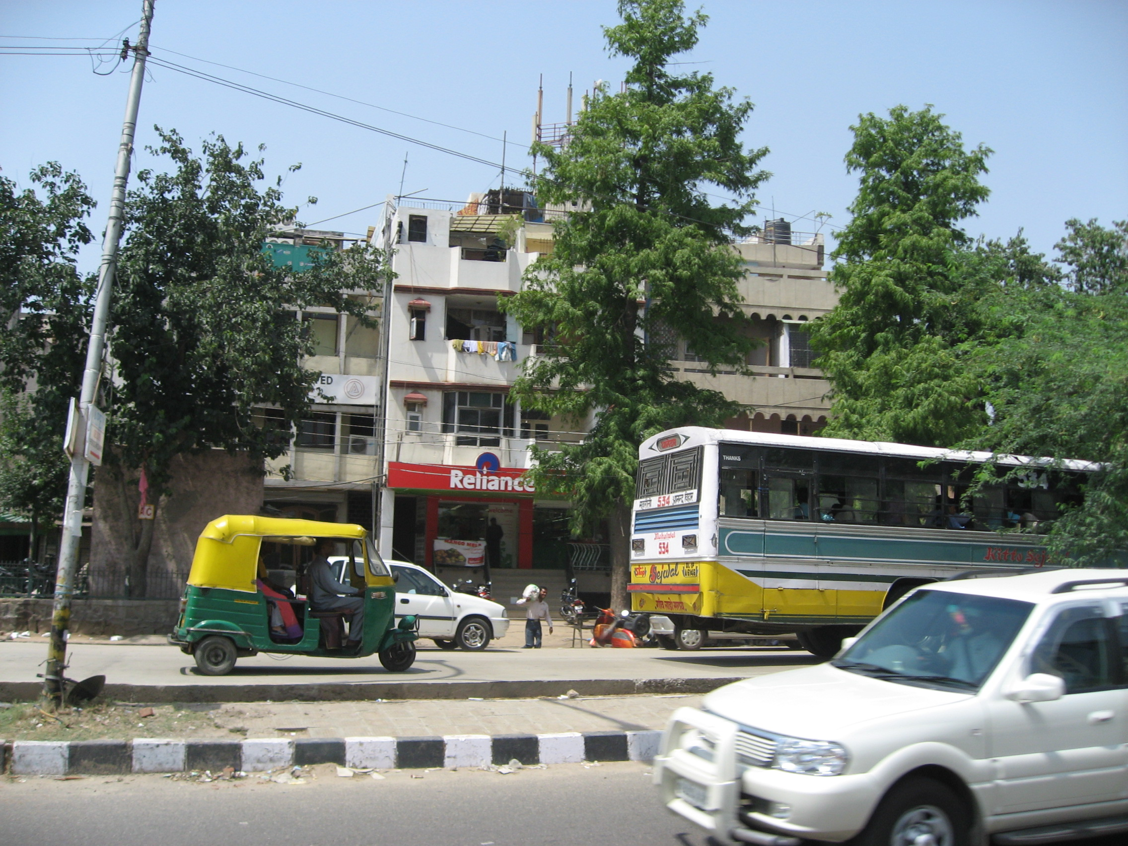 a RelianceFresh store in south Delhi