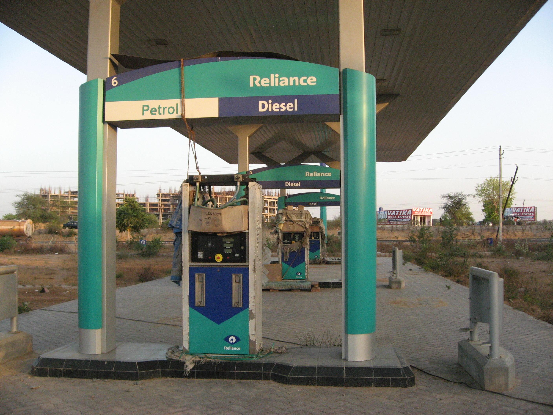 Mothballed petrol pumps on the Delhi-Jaipur highway - pic JE