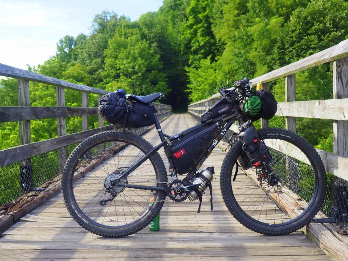 Surly Krampus bikepacking
