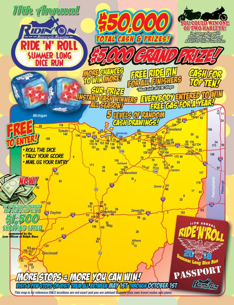 Ride-N-Roll Map
