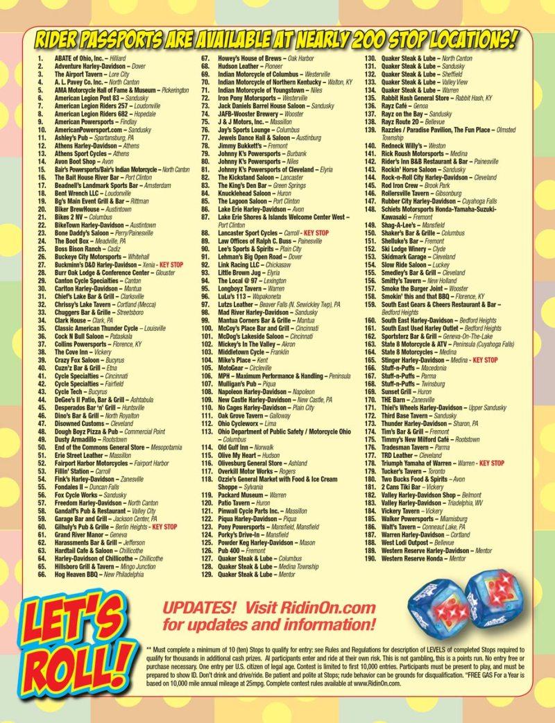 Ride-N-Roll Listings