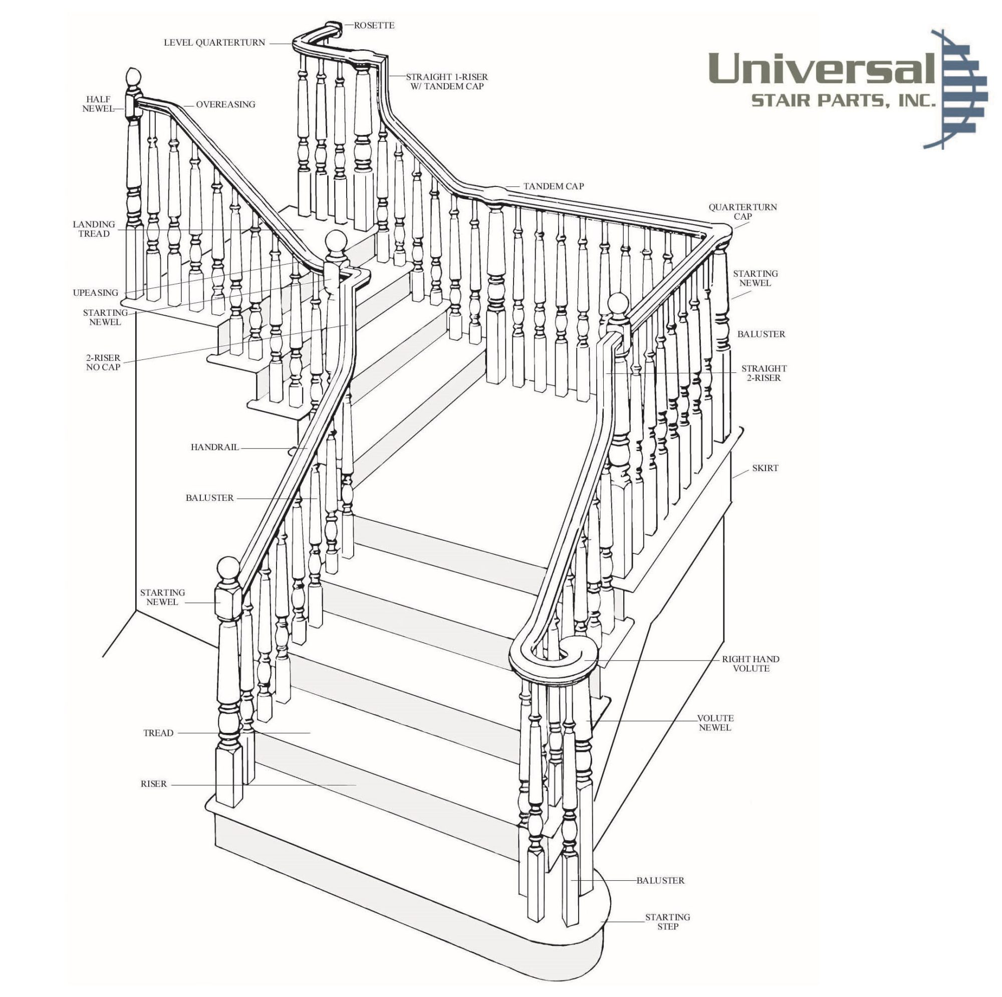 hight resolution of stair diagram trim molding staircases