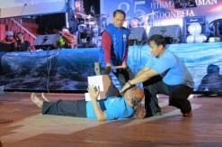 Demo Valgara Manajemen Terapi Hikmatul Iman Milad HI ke 25 01