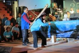 Demo Valgara Manajemen Terapi Hikmatul Iman Milad HI ke 25 02