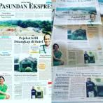 Kegiatan Komunitas Granuma Organik Teh Eli Kang Tedi dimuat di media massa