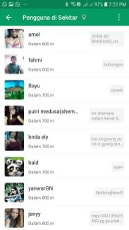 MiChat Pengguna Sekitar 04