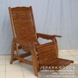 kursi santai,jual kursi jati,jepara furniture,finishing natural,jepara chair
