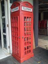 almari rak telephone inggris,union jack furniture,furniture creative jepara goods,furniture jakarta bandung surabaya,rak buku unik inggris,replica telephone booth rack
