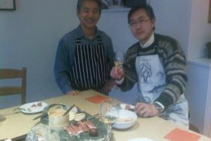 男の手料理と大人のお泊まり会