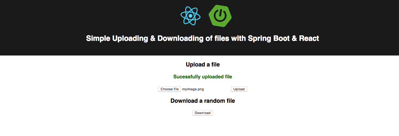 HOWTO: Up- and download files with React and Spring Boot | rieckpil