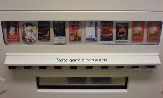Duitse snoep automaat