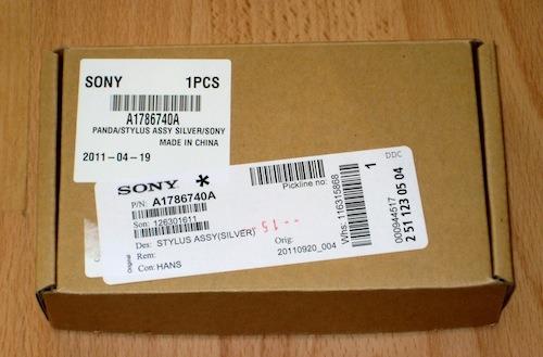 Een pakketje van Sony