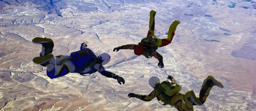 Samen in het diepe springen