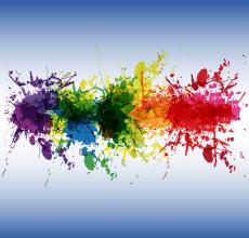Energiek kleurenpalet