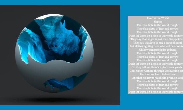 Wat als de wereld meer heel zou zijn?