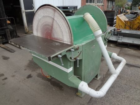 Large Double Ended Disc Sander  W Rietveld Ltd