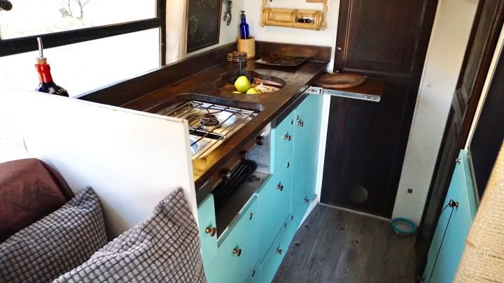 DIY Sprinter kitchen