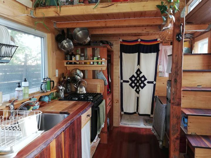 Tiny house diy kitchen