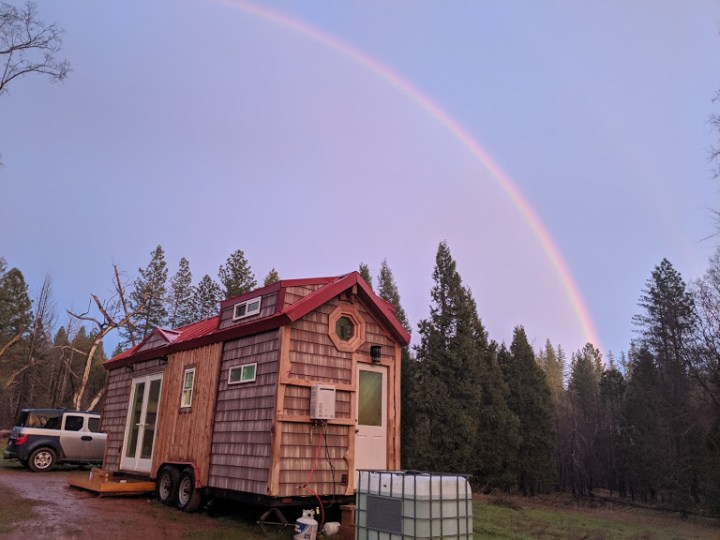 SELF BUILT TINYHOUSE 24' long by 8' wide