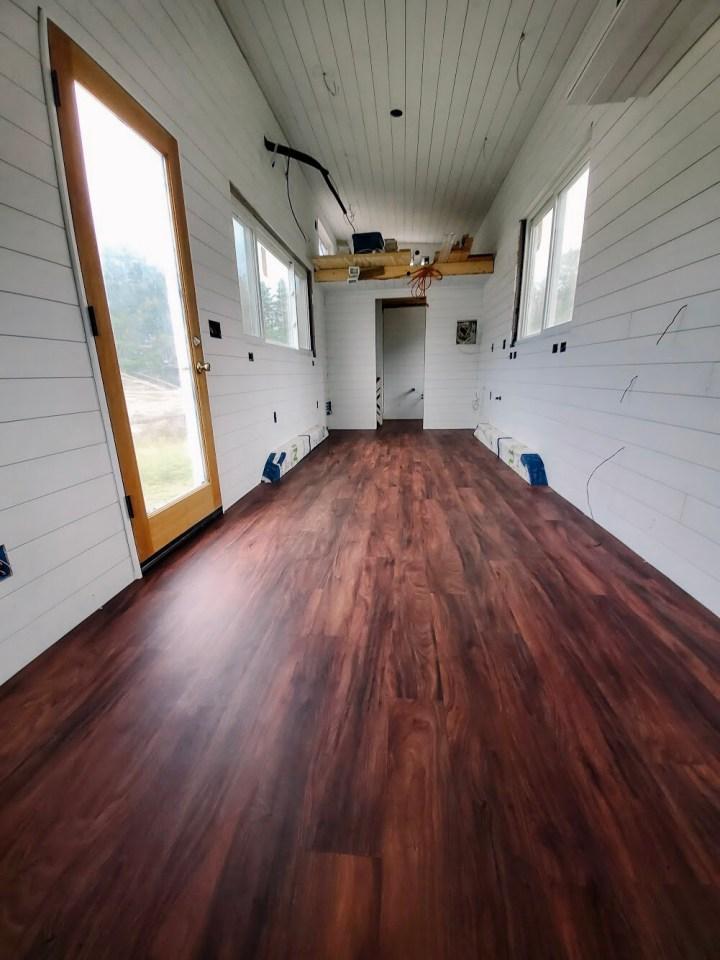 tiny house floor