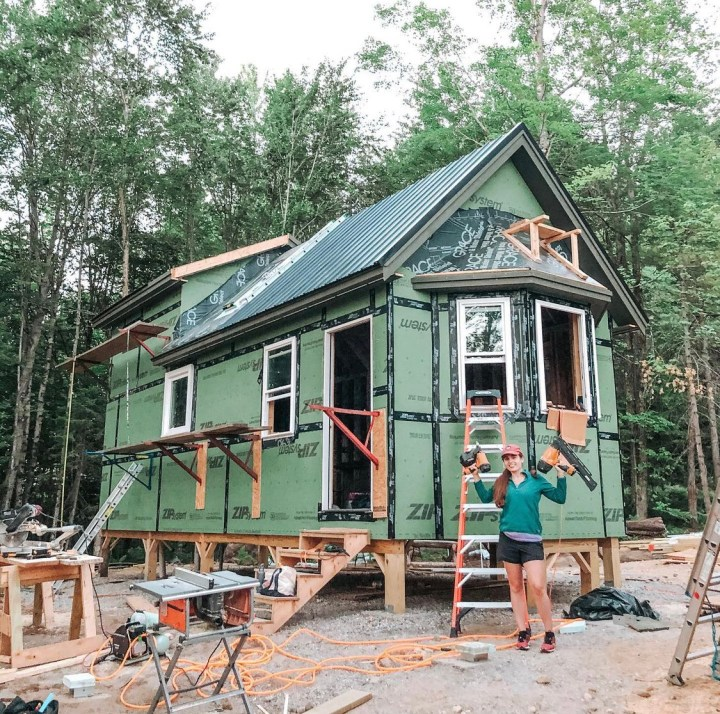 Self Built Tiny House – Modern Rustic Interior Design