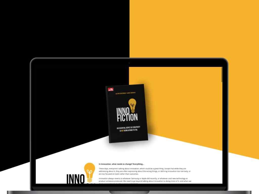 Inno-fiction Landing Page