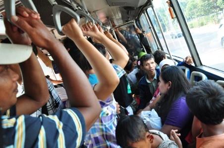 Suasana Transjakarta
