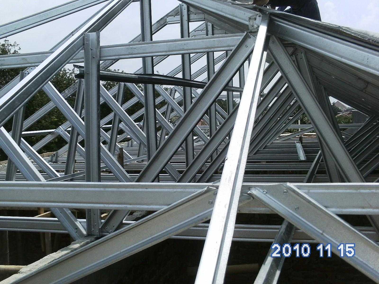 dimensi truss baja ringan rangka atap   rifautama