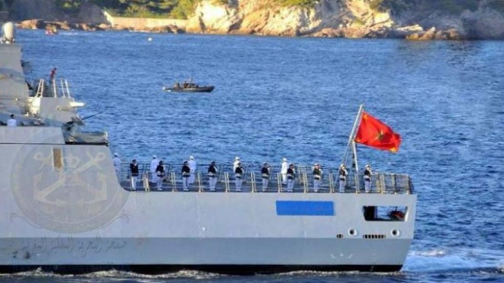 البحرية الملكية تقدم مساعدة ليخت إسباني واجه صعوبات في عرض سواحل الناظور
