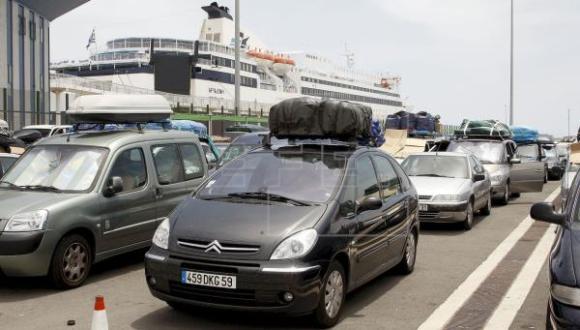 ضوابط جديدة للسفر من ميناء الخزيرات إلى سبتة والعكس