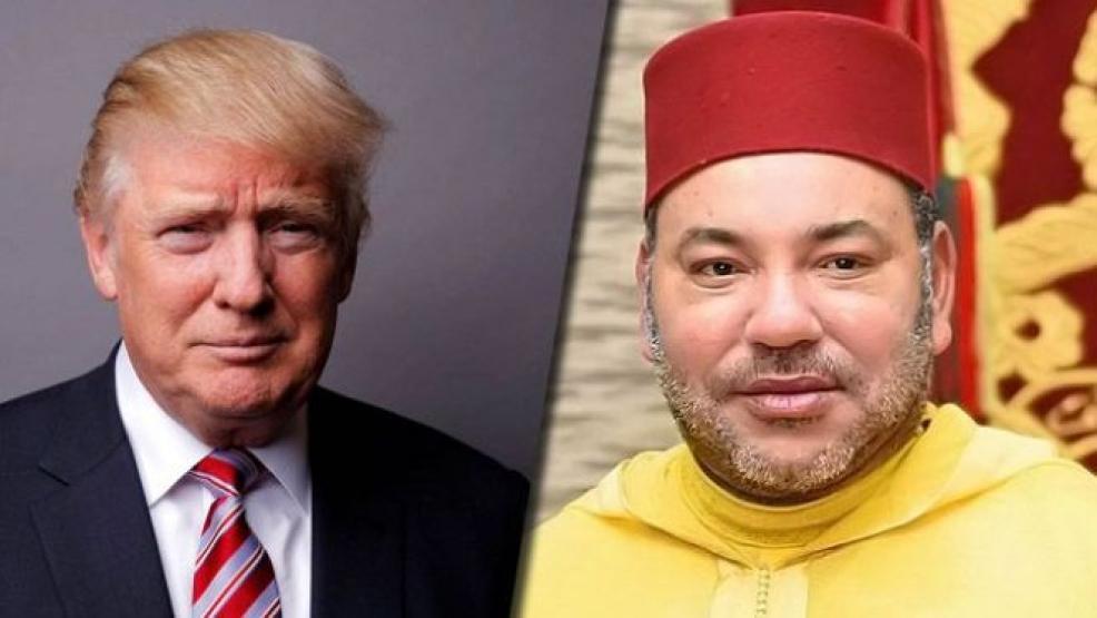 ترامب يمنح الملك محمد السادس وسام الإستحقاق