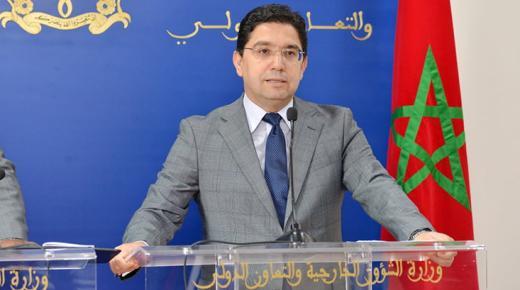"""بوريطة: على أوروبا الخروج من منطق """"الأستاذ والتلميذ"""" والمغرب لن يلعب دور الدركي"""