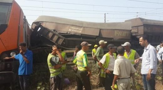 فاجعة :مقتل شخص وجرح العشرات إثر تصادم قطارين بالمحمدية