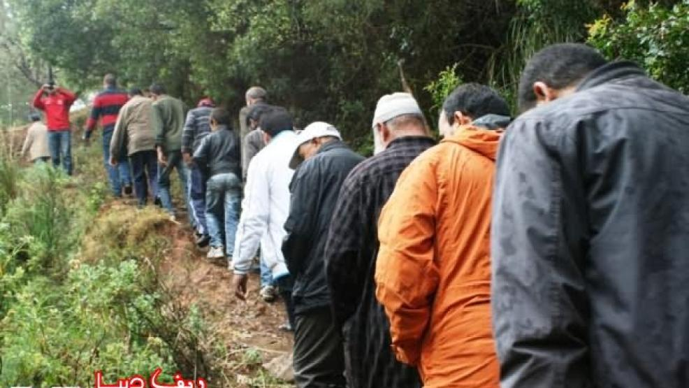 """صور: تعاونية الساحل المتوسط تنظم رحلة استكشافية إلى منطقة """"كرمة موسى"""" بإقليم الدريوش"""