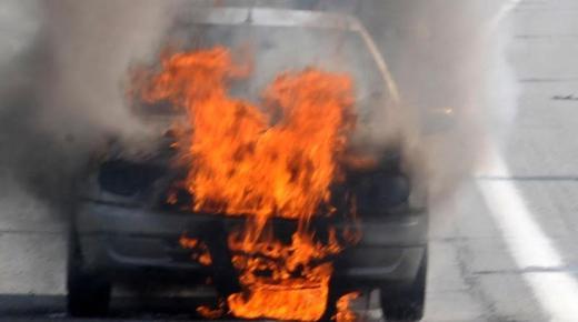 مصرع مستشار جماعي حرقا داخل سيارته في حادثة سير خطيرة