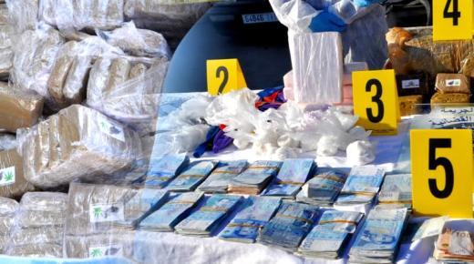 الشرطة القضائية بالناظور تُحْبط عملية تهريب كوكايين و هيروين و أقراص مُخذِّرة قادمة من مليلية (فيديو وصور)