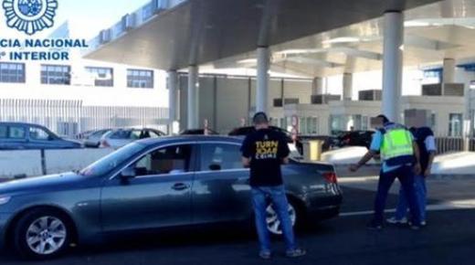 تفكيك شبكة لتهريب السيارات بين المغرب واسبانيا