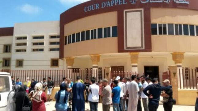 استئنافية الحسيمة تضاعف عقوبات حبسية في حق معتقلي حراك الريف