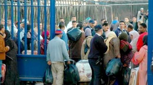 سوريون يقتحمون بوابة بني انصار ويدخلون إلى مليلية