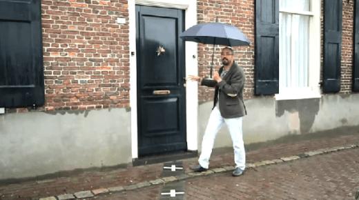 منزل نصفه في بلجيكا والنصف الأخر في هولاندا !! (بالفيديو)