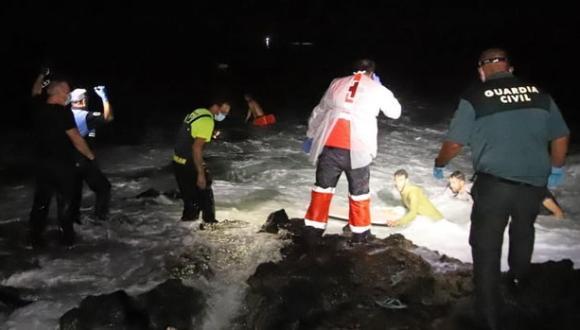 ألميريا: العثور على جثث مهاجرين لفظها البحر قرب سواحل المدينة